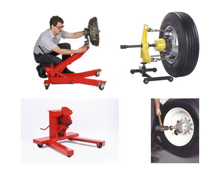 Heavy-Duty Truck Tools and Service Equipment